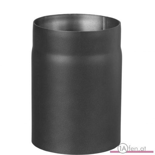 Rauchrohr / ofenrohr 130mm - 250mm schwarz