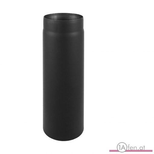 Rauchrohr / ofenrohr 160mm - 500mm schwarz