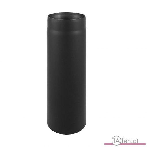 Rauchrohr / ofenrohr 220mm - 1000mm schwarz